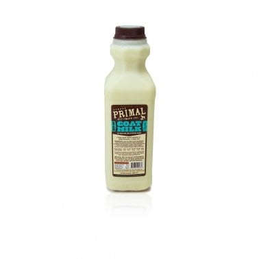 Primal 1 Quart Raw Goat Milk